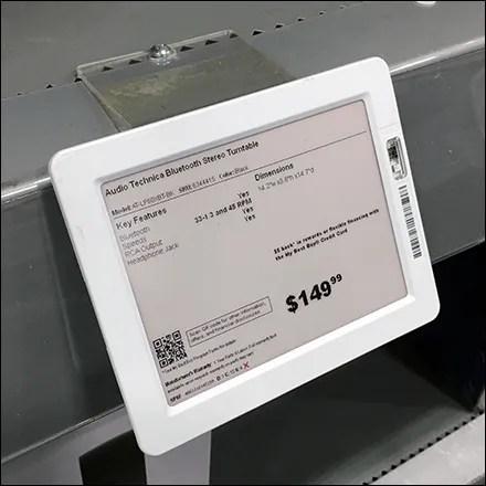 Shelf-Edge Digital-Price-Ticket Sign Holder