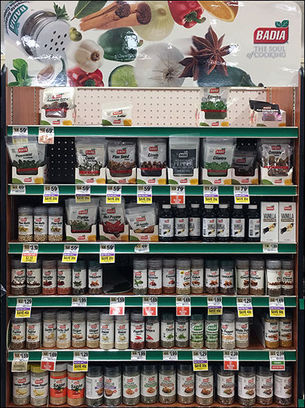 Soul-of-Cooking Spice Store-in-Store Display