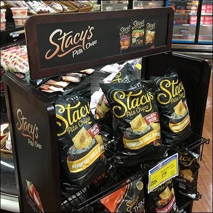 Stacy's Pita Chips Wire-Shelf Display