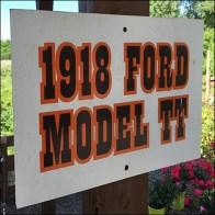 Vintage Ford Model-TT Truck Staging