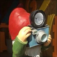 Garden Gnome Selfie Opportunity