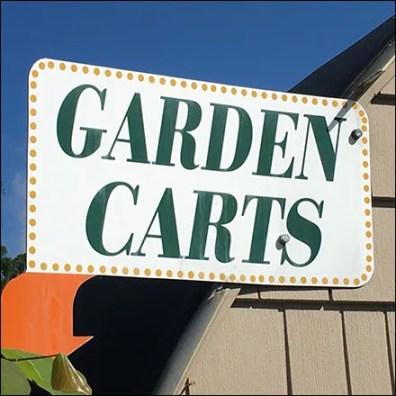 Landscaping Garden Cart Lineup