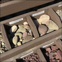 Personal-Size Landscaping Sample Bins