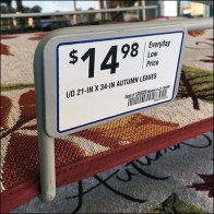 Front-Mount Metal-Plate Label Holders