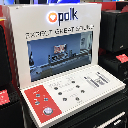 Expect-Great-Sound Inline Speaker Display
