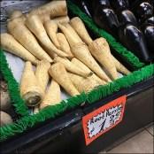 Root Parsley Greens Visual Merchandising