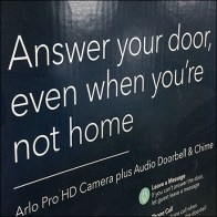 Arlo Answer-Door-Bell Pallet Display