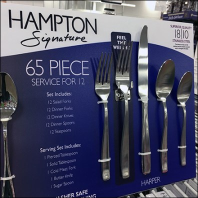 Hampton Dual-Pattern Service-for-Twelve Tableware