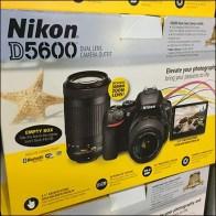 Nikon D5600 DSLR Camera Display