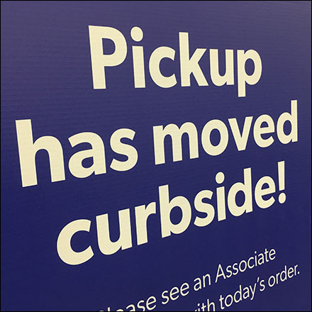 Order Pickup Moved To Curbside