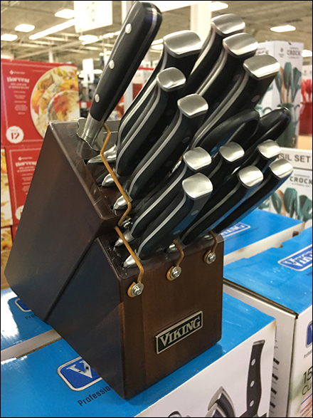 Viking Cutlery Set Display Lockdown
