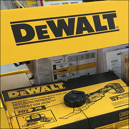 DeWalt Guaranteed-Tough Corrugated Display