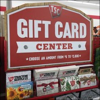 Tractor Supply Company Gift-Card-Center