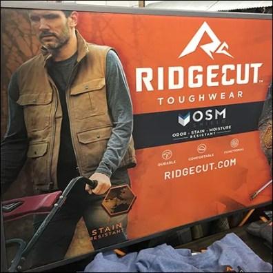 Ridgecut Toughwear Shirt Benefits Display