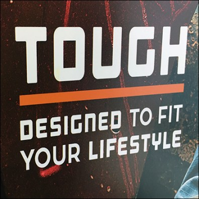Ridgecut Toughwear Lifestyle Entry Sign
