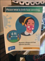 CDC CoronaVirus Cloth Mask Recommended