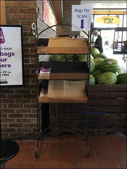 In-store Scans Program Bag Offering