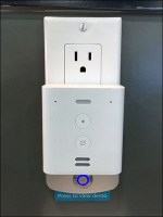 Amazon Alexa Low-Rider Electrical-Outlet Staging