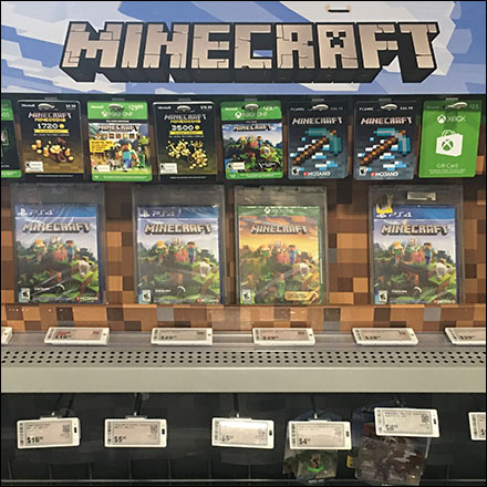 Minecraft Electronic Price Ticket Outfitting
