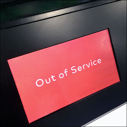 Nintendo Demo Out-Of-Service Warning