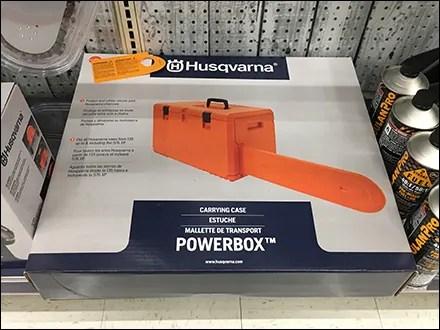Husqvarna Powerbox Chain-Saw Carry Case