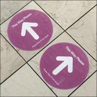 Simon Properties CoronaVirus Mall Floor Graphics