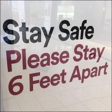 Coronavirus Simon-Says Stay-Safe Stay-Apart