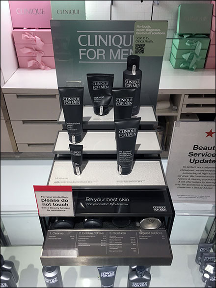 Macy's Do-Not-Touch Cosmetics CoronaVirus Advisory