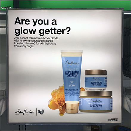 Natural Beauty Glow Getter Display