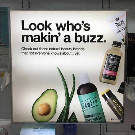 Natural Beauty Making Buzz Display