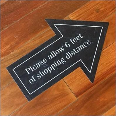 Ralph Lauren CoronaVirus This-Way Directional Graphic