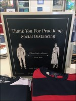 Ralph Lauren CoronaVirus Social Distancing Thank-You