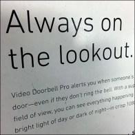 SimpliSafe Doorbell Pallet Display