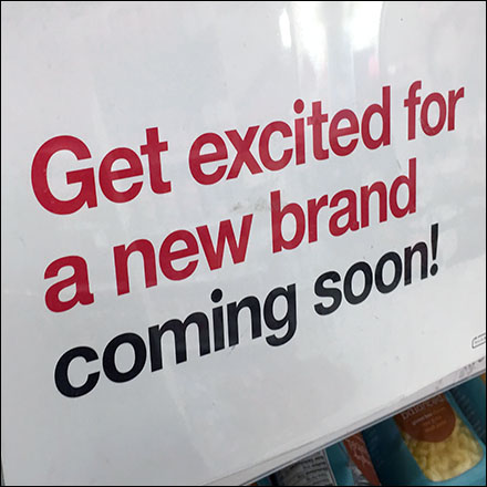 New Brand Coming-Soon Shelf-Sign