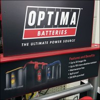 Tractor Supply Company Optima Battery Ultimate Display Feature