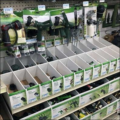 Sprayer Hose Connector Display Organization