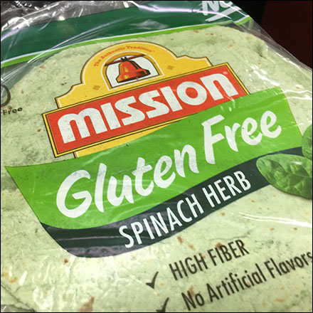 Mission Gluten-Free Flatbread Tower Display