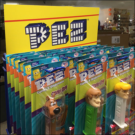 Small-Footprint High-Capacity Pez Tower