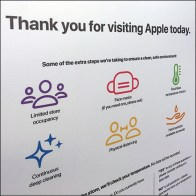 Apple CoronaVirus Store-Entry Visitor Regime
