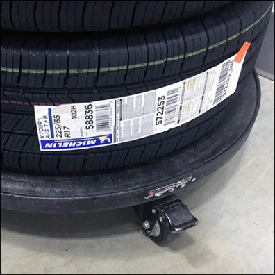 Automotive-Dept Circular Tire Dolly