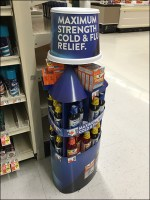 NyQuil Giant Bottle Recognition Strategy