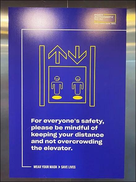 CoronaVirus Elevator Social Distancing Reminder