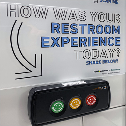 CoronaVirus Pushbutton Restroom Rating
