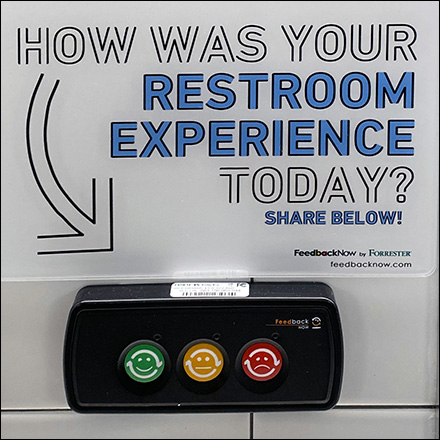 CoronaVirus Pushbutton Restroom Rating