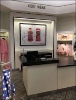 Kids' Bubblegum Machine In-Store Art