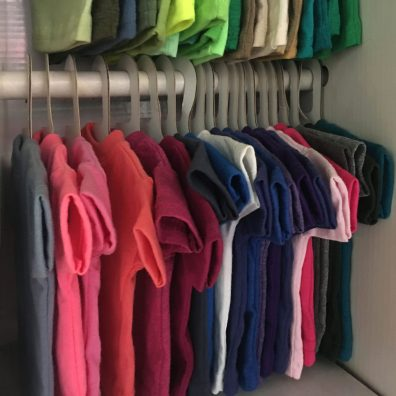Miniature T-Shirt Corrugated Clothes-Hangers