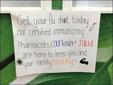 Do-It-Yourself Personal Flu Shot Plea