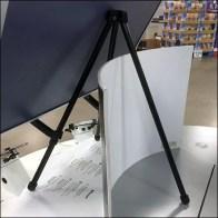 End-Aisle Counter-Top Tripod Easel