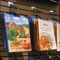 Wegman's Slatwall Shopping Bag Array