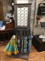 Staged Umbrella Stand Display